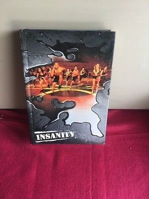 Insanity Beach Body 60 Day Workout 12 DVD Set + Nutrition Book