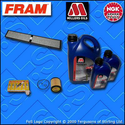 SERVICE KIT for BMW 3 SERIES 325I N53 OIL CABIN FILTER PLUGS +7L OIL (2007-2013)
