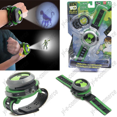 NEW Children's Gift Projection Watch BEN 10 Alien Force Projector Watch Toy Xmas