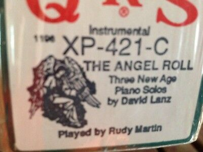 THE ANGEL ROLL Instrumental  3 SELECTIONS NEW LONG PLAY CHRISTMAS  PIANOLA ROLL