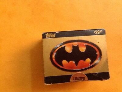 1989 Topps Batman Movie Cards Complete Collectors Ed.143 Cards 22 Stickers.new