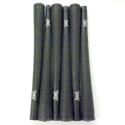 6 New PURE PXG Black Grips Standard Size .600 R Core