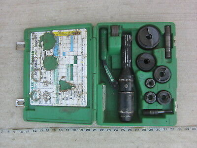 "Greenlee 7906SB ½"" to 2"" Hydraulic Punch Diver, Used"