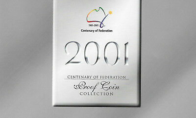 Certificate of Authenticity 2001 Centenary Of Federation Proof Coin set -NO COIN
