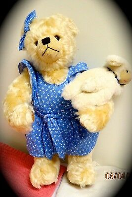 New RARE Musical Mary Had a Little Lamb Hermann Bear Darling & Hard to Find #13