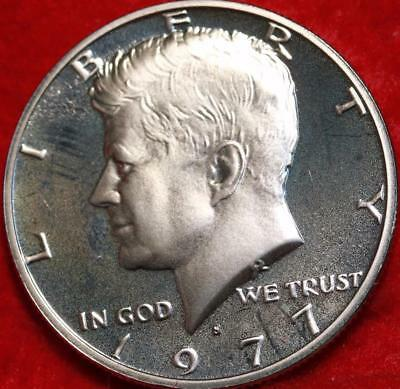 Uncirculated Clad Proof 1977-S San Francisco Mint Kennedy Half Free S/H
