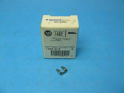 Allen Bradley 1492-N13 Terminal Block 1492-F1/F2 Side Jumper 2 Pole Uninsulated