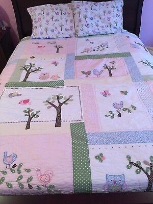 pottery barn kids quilt and sheet set size queen