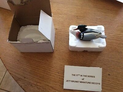 Jett Brunet Ducks Unlimited Miniature decoys Red breasted Merganser 2015