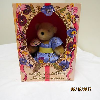 Muffy VanderBear Tenth 10th Anniversary This Takes the Cake Boxed Limited Ed.