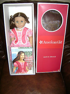 """AMERICAN GIRL HISTORICAL DOLL 18"""" MARIE GRACE  Book friend of CECILE RETIRED NIB"""