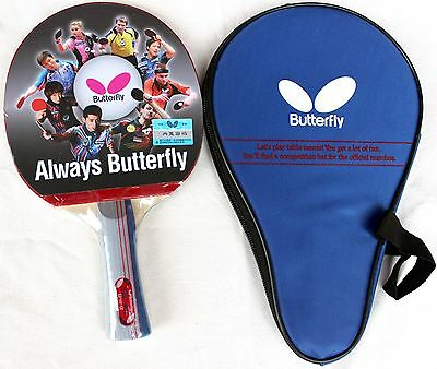 Butterfly Table Tennis Bat / Paddle / Racket with Case:  TBC-401 / TBC401, New,