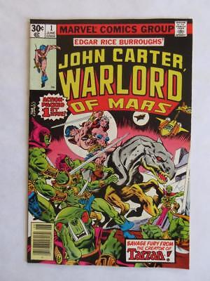 John Carter Warlord of Mars # 1 - NEAR MINT 9.6 NM - 1st Issue! Origin! MARVEL!