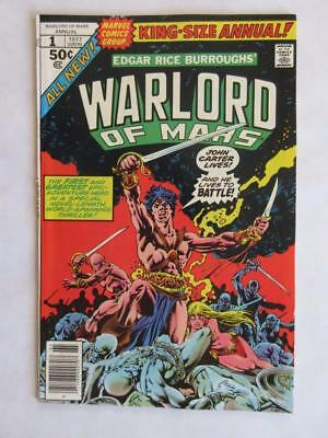John Carter Warlord of Mars Annual # 1 - NEAR MINT 9.4 NM - MARVEL Check Comics!