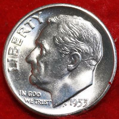 Uncirculated 1953-S San Francisco Mint Silver Roosevelt Dime Free Shipping