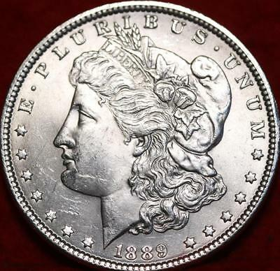 Uncirculated 1889 Philadelphia Mint Silver Morgan Dollar Free S/H