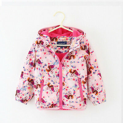 Baby Girls Coat Windproof Warm Hooded Jacket Toddler Girl Clothes Outwear