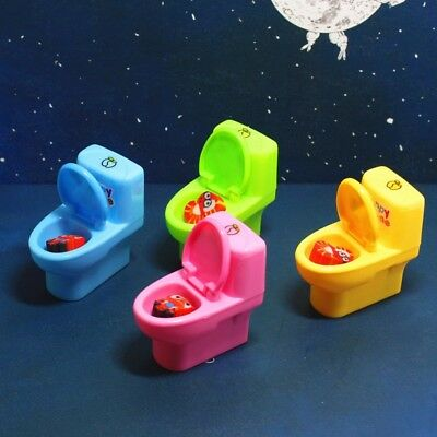 Novelty Student Toilet Style Pencil Sharpener Pencil Cutting Tools With Erasers