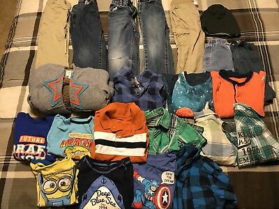Size 3t 4t Boys Toddler Clothing Lot