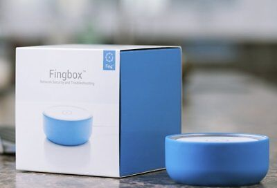 Fingbox Network Security Toolkit Device Blocking, Internet Security Checks Alert