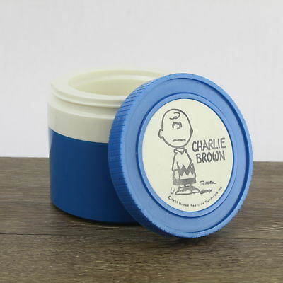 Vintage King Seeley Thermos Charlie Brown Insulated Jar 1155/3 Blue