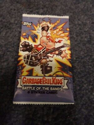 2017 Garbage Pail Kids Battle of the Bands Unopened Sticker Pack from Box!