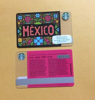 Mexico 15th Anniversary Starbucks Card, 2017