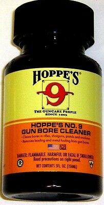 Hoppe's No. 9 Solvent 5 oz ~ Hoppes Universal Gun Bore Cleaner ~ Elite Cleaning