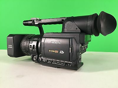 Panasonic AG-HVX200P HD Camcorder with P2 Cards, Case, Accessories