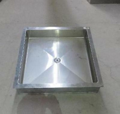 STAINLESS STEEL 31.5 X 31.5 X 6 DROP-IN ICE BIN cold food