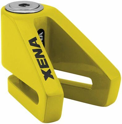 Xena Security X1 Disc-Lock with 6mm Pin Yellow
