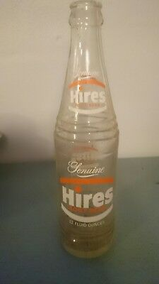 Vintage hires rootbeer bottle