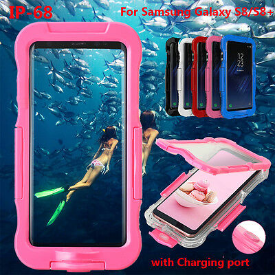 Waterproof Shockproof Dirtproof Cover Clear Case For Samsung Galaxy Note 8 S8+