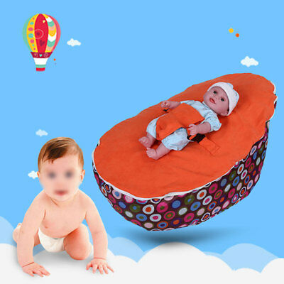 Comfortble Baby Infant Bean Bag Soft Sleeping Bag Portable Seat Without Fillings