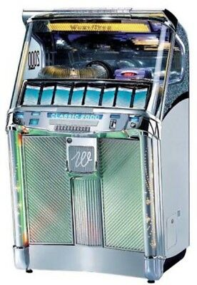Wurlitzer Classic 2000 CD Jukebox Perfect Working Order Excellent Like New Cond