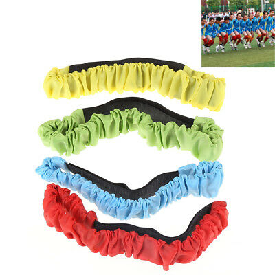 Three-legged Elastic Sport Tie Rope Run Race Game Kid Cooperation Outdoor Toy GN