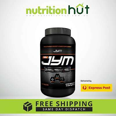 JYM Vita JYM 60 Tablets Daily Performance Multivitamin Support Overall Wellbeing