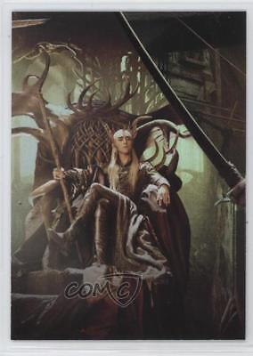 2015 Cryptozoic The Hobbit: Desolation of Smaug CP2 Thranduil on Throne Card 0f8