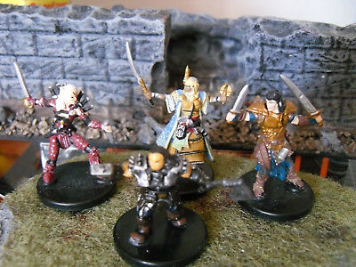 Lot of DUNGEONS AND DRAGONS / PATHFINDER Miniature PLAYER CHARACTERS (Unplayed!)