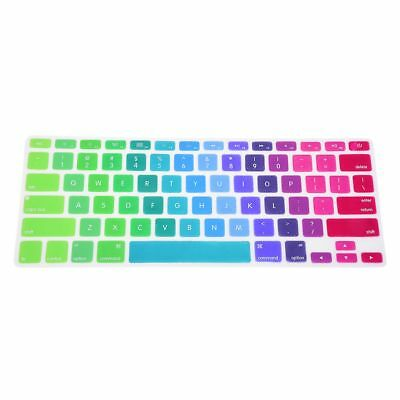 """US Colorful Silicone Keyboard Cover Skin For Apple Macbook Pro Retina 13""""-1 M8S9"""