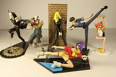 SUNRISE Cowboy Bebop Story Image Figures ALL 6 Characters Complete Set RARE!!