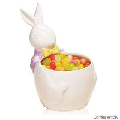 Easter  Bunny Candy Dish  Ceramic