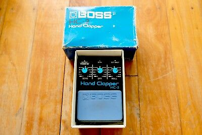 Boss HC2 analog TR808 Hand Clap Pedal drum machine