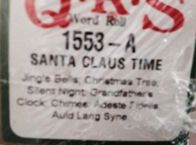 Santa Claus Time 7  Selections New Long Play Christmas  Pianola Roll