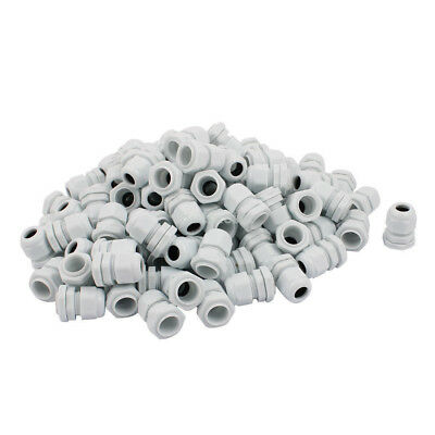 100Pcs  PG11 Water Resistance Cable Gland Fixing Connector Joints Fastener White