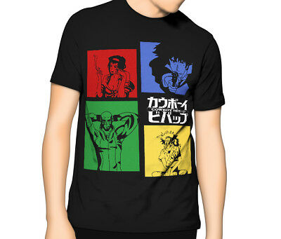 Cowboy Bebop T Shirt | Crew | Anime Manga | Kids - Mens 6XL