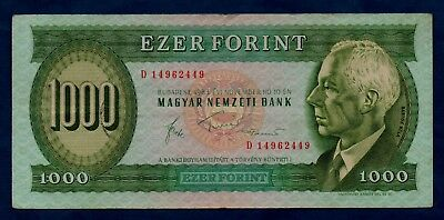 Hungary Banknote 1000 Forint 1983  VF