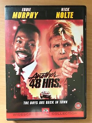 Nick Nolte Eddie Murphy ANOTHER 48 HRS ~ 1990 Action Comedy Sequel UK DVD Hours