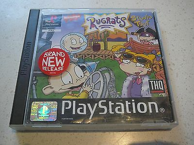 "Play Station 1  game ""Rugrats Studio Tour"""