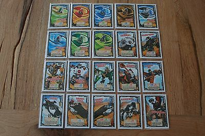 LEGO Ninjago™ Series 2 fahrzeugkarten 141 - 160 Choose Trading Cards Vehicle